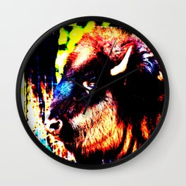 Abstract Buffalo Wall Clock