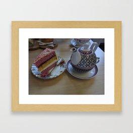 Afternoon Tea in Arbroath Framed Art Print