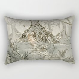 Drawings a Forest Rectangular Pillow
