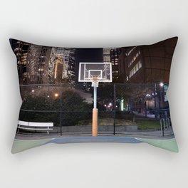 Basketball court New York City Rectangular Pillow