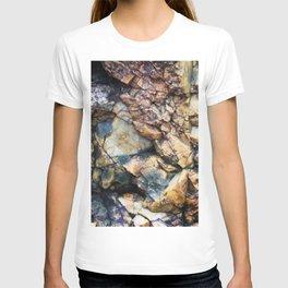 Jagged Rock Texture T-shirt