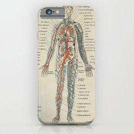 Anatomy Vintage Scientific Illustration French Language Encyclopedia Lithographs Educational iPhone Case