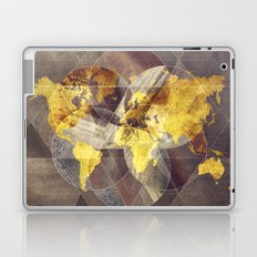 world map 35 sacred Laptop & iPad Skin