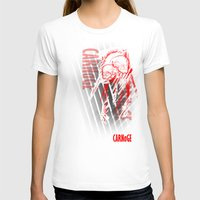 carnage T-shirts featuring CARNaGE by Psychojoe151