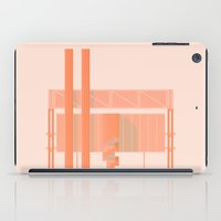cigarette iPad Cases featuring Cigarette Factory by Peter Cassidy