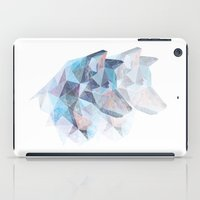 wolves iPad Cases featuring Wolves by KesuOriesok