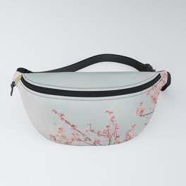 Pink Flowers in the Sky Fanny Pack