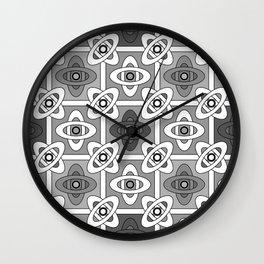 5 Oriental patterns Wall Clock