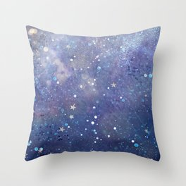 Galaxy II Throw Pillow