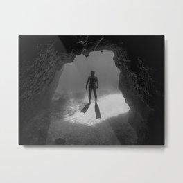 Caveman Metal Print
