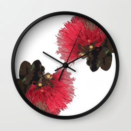 Lehua Wall Clock
