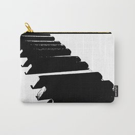 Ebony & Ivory Carry-All Pouch