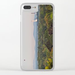 Balloon over Westbrook Clear iPhone Case
