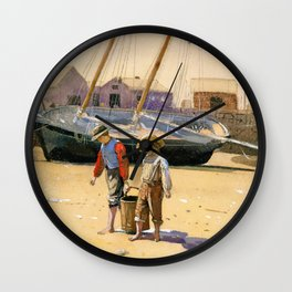 A Basket Of Clams - Digital Remastered Edition Wall Clock