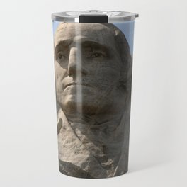 George Washington And Thomas Jefferson  - Mount Rushmore Travel Mug