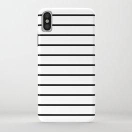 Minimalist Stripes iPhone Case