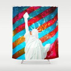 Liberty Pop Art Shower Curtain