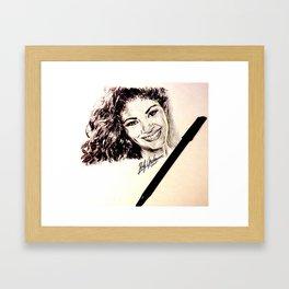 MEXICAN SINGER Framed Art Print