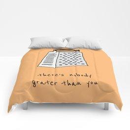 Nobody grater Comforters