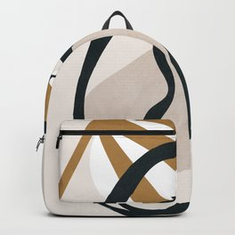 Abstract Shapes 35 Backpack