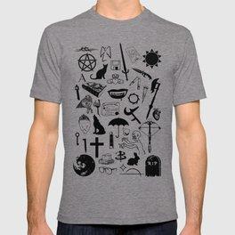 Buffy Symbology, Black T-shirt