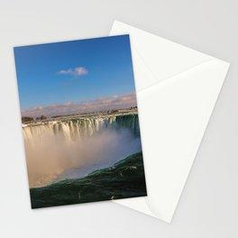 sunny horseshoe falls Stationery Cards