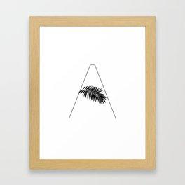 Palm A Framed Art Print
