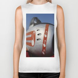 F-86E Sabre Flying Swans Biker Tank