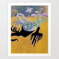 Scorpion Dreams Art Print
