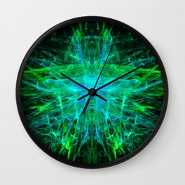 Nightlight Butterfly Wall Clock