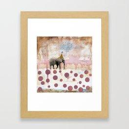 Moving Towards Your Dream Framed Art Print