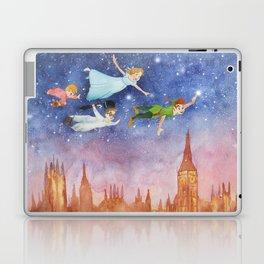 Peter Pan Sunset Nursery Decor Laptop & iPad Skin
