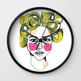 Bigoudis Girls Wall Clock