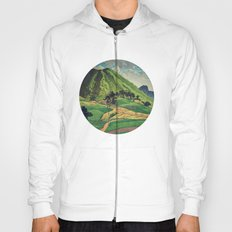 Crossing people's land in Iksey Hoody