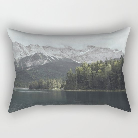 Slow days - Landscape Photography Rectangular Pillow