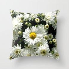 Daisy Dandy Throw Pillow