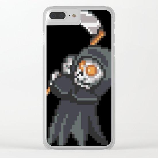 Reaper Clear iPhone Case