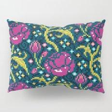 Pixel Flora Pillow Sham