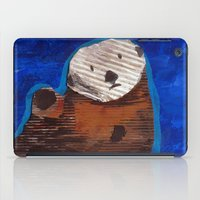 otter iPad Cases featuring Otter by Cre8tive Papier