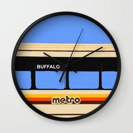 THE METRO Wall Clock