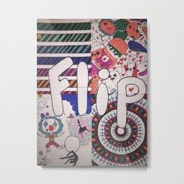 Flip Metal Print