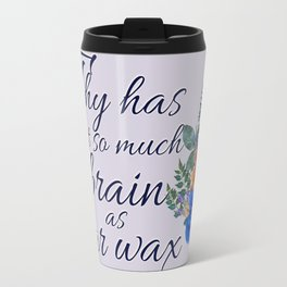 Wax Genius Travel Mug