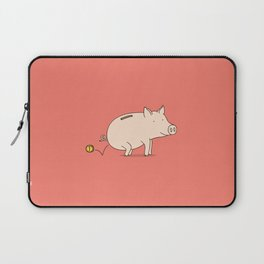 piggy bank Laptop Sleeve