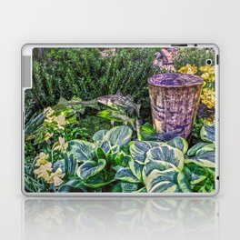 Greens and Yellows Garden Laptop & iPad Skin