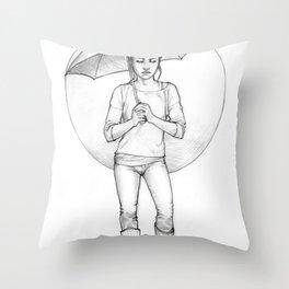 dimah Throw Pillow