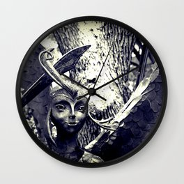 Forest Fairies Wall Clock