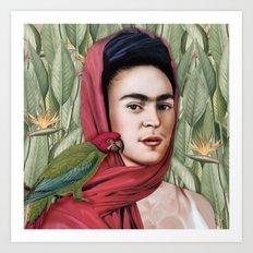 Frida Vida Art Print