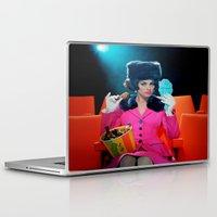 theatre Laptop & iPad Skins featuring Theatre Lady by Wanker & Wanker