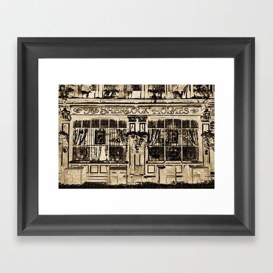 The Sherlock Holmes Pub London Framed Art Print