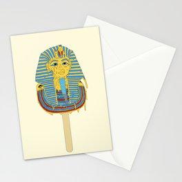 Tutankhamun's ice cream  Stationery Cards